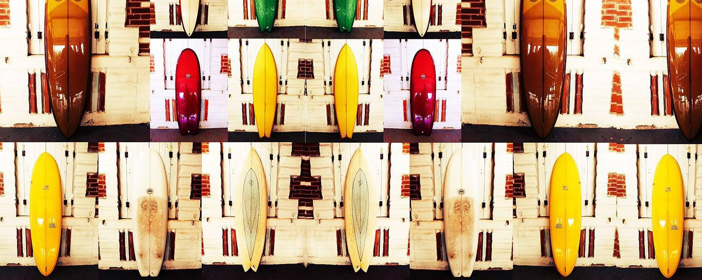 secondhand surfboards and longboards