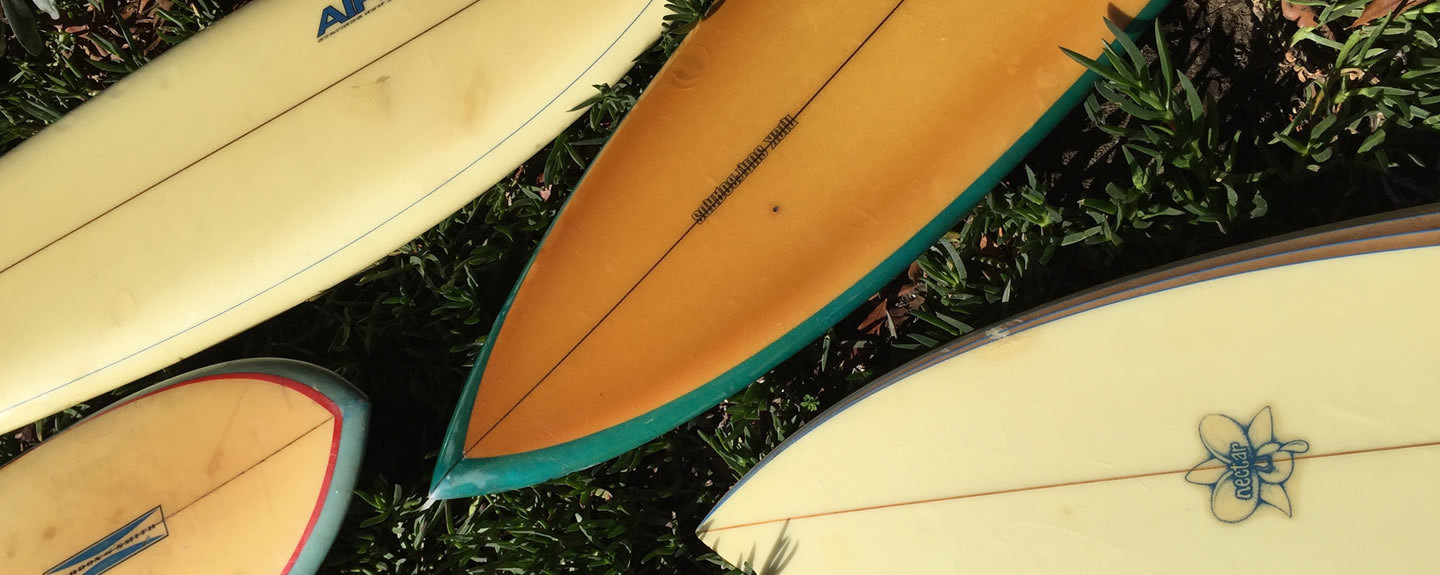 Vintage et Collector surfboards and longboards