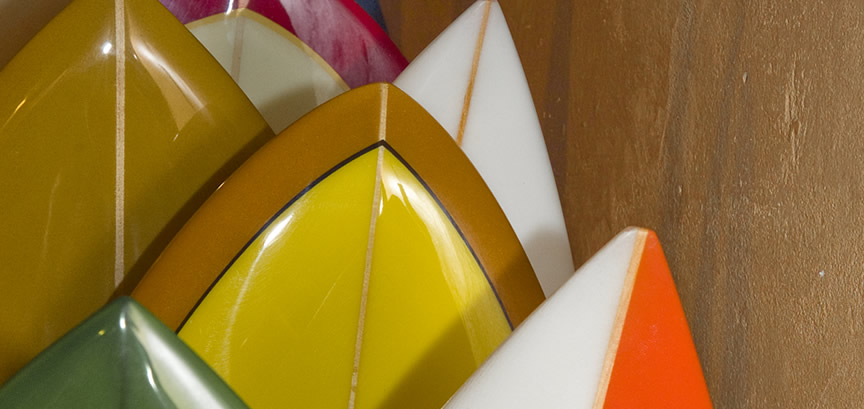 Surfboards in our shop