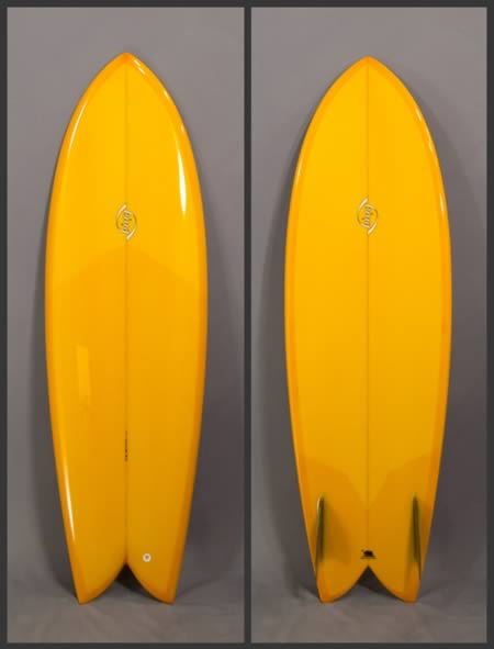 Bing twin fish surfboard by californian shaper for sale for Fish surfboard for sale